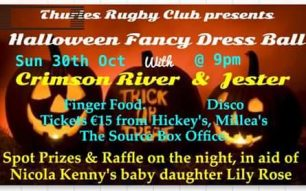 Halloween Fancy Dress Ball – 30th of October