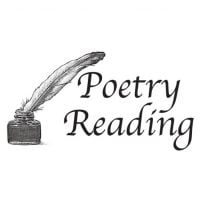 Poetry Reading: Saturday 26th October