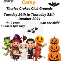 Swift Therapy Halloween Camp – Tuesday 26th – 28th